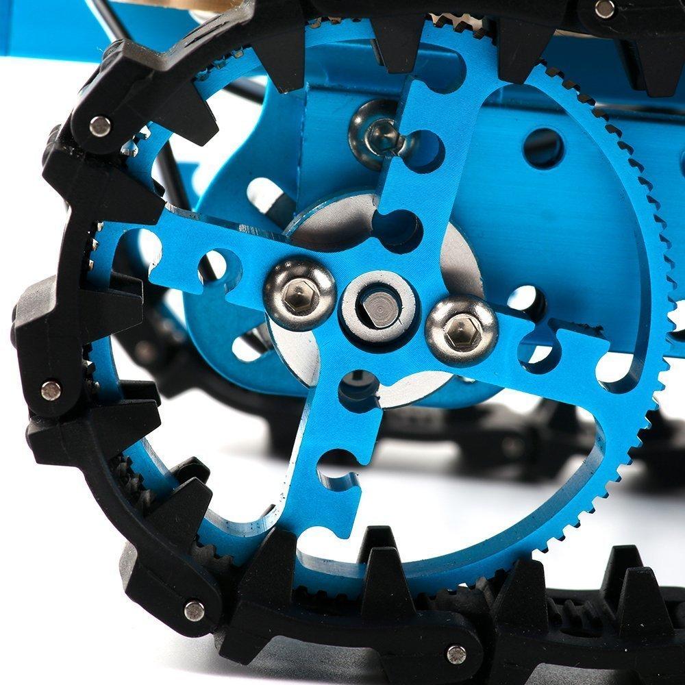 Makeblock DIY Starter Robot kit - Premium Quality - STEM Education - Arduino - Scratch 2.0 - Programmable Robot Kit for Kids to Learn Coding, Robotics and Electronics (IR Version) by Makeblock (Image #8)