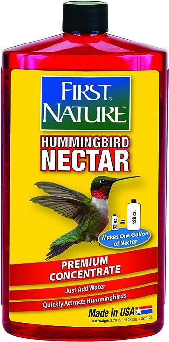 The Best Nature First Hummingbird Nector
