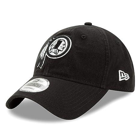 c6d869975 Image Unavailable. Image not available for. Color: Washington Redskins New  Era NFL 9Twenty Twill Core Classic Adjustable Black Hat