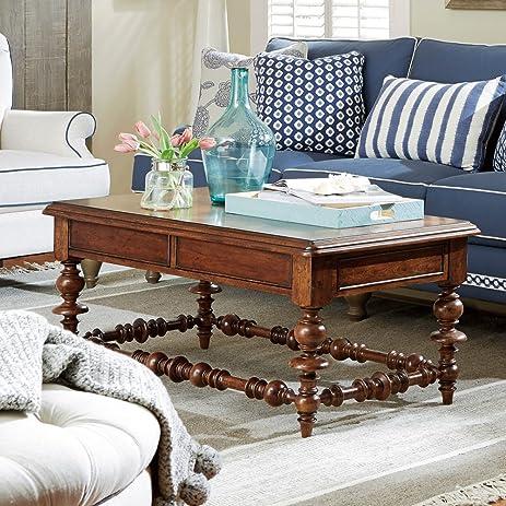 Paula Deen Home Dogwood Coffee Table In Low Tide