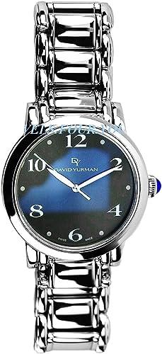 Amazon Com David Yurman Stainless Steel Sterling Silver Watch 38mm New Boxed Tags 2600 David Yurman Watches