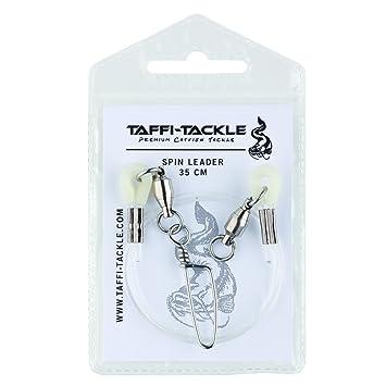 Taffi Tackle Spinleader 35cm Spinnvorfach zum Spinnfischen auf Waller Vorfach