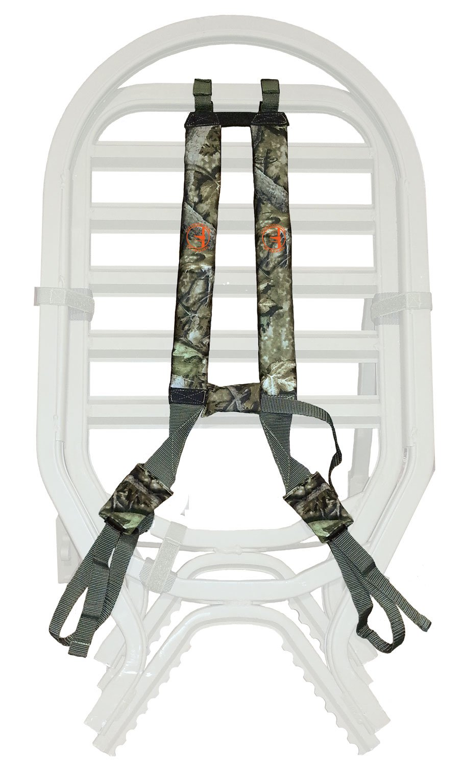 COTTONWOOD OUTDOORS Treestand Resurrection, Transport Strap System, Clear Cutt Camo