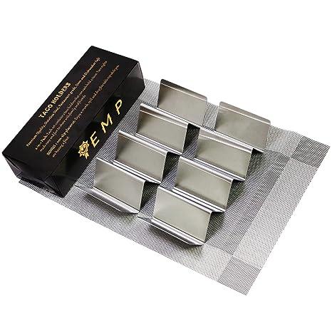 Amazon.com: Paquete de 2 soportes de acero inoxidable para ...