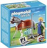 Playmobil - A1502721 - Jeu De Construction - Vétérinaire Avec Cheval