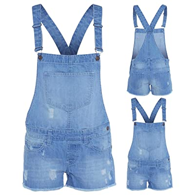 Denim State - Peto - para Mujer Azul Azul X-Large: Ropa y accesorios