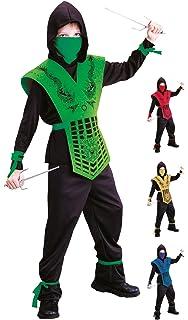 Wicked Costumes - Disfraz de ninja para niños Talla Pequeña ...
