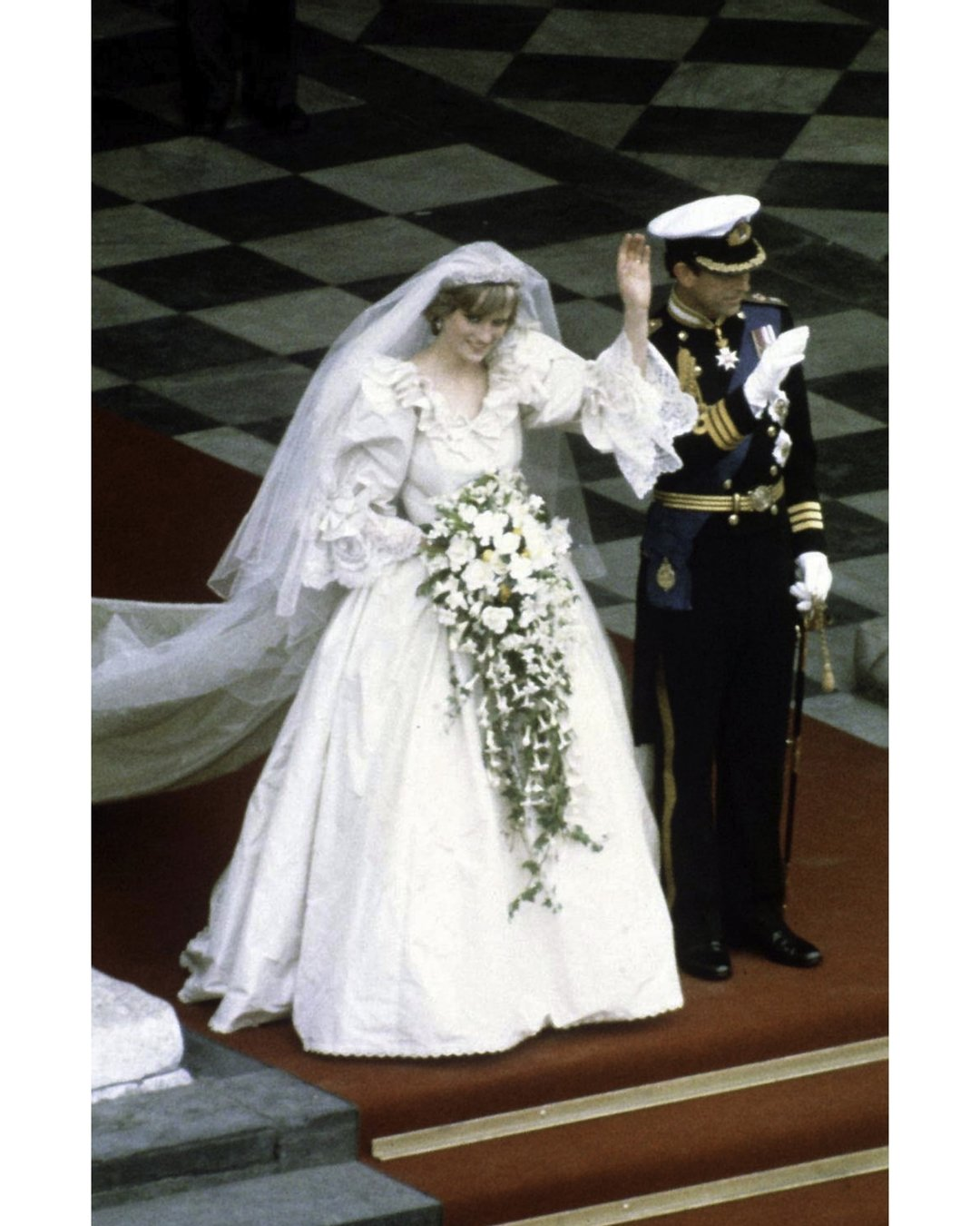 Diana And Charles Wedding.Prince Charles And Princess Diana At Their Wedding 11 X 14 Pop Culture Art Photographic Full Bleed Print Premium Paper 80 S Retro