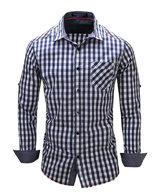 0a00f51ca99 pujingge Mens Long Sleeve Shirt Slim Fit Summer Button Down Dress Shirt at  Amazon Men s Clothing store