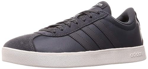 Adidas VL Court 2.0 Schuh Sneaker Herren Core Black Grey