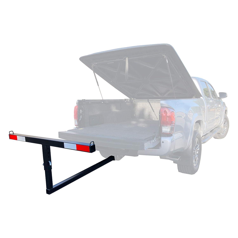 MaxxHaul 70231 Hitch Mount Truck Bed Extender For Ladder, Rack, Canoe, Kayak, Long Pipes and Lumber