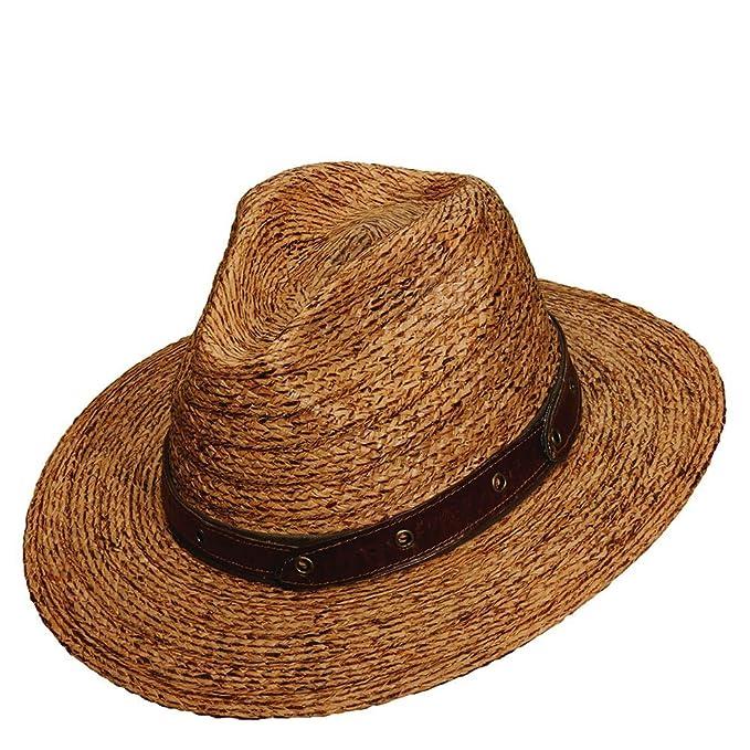 Amazon.com: Tommy Bahama Headwear Burnt BRD Rafia Safari té ...
