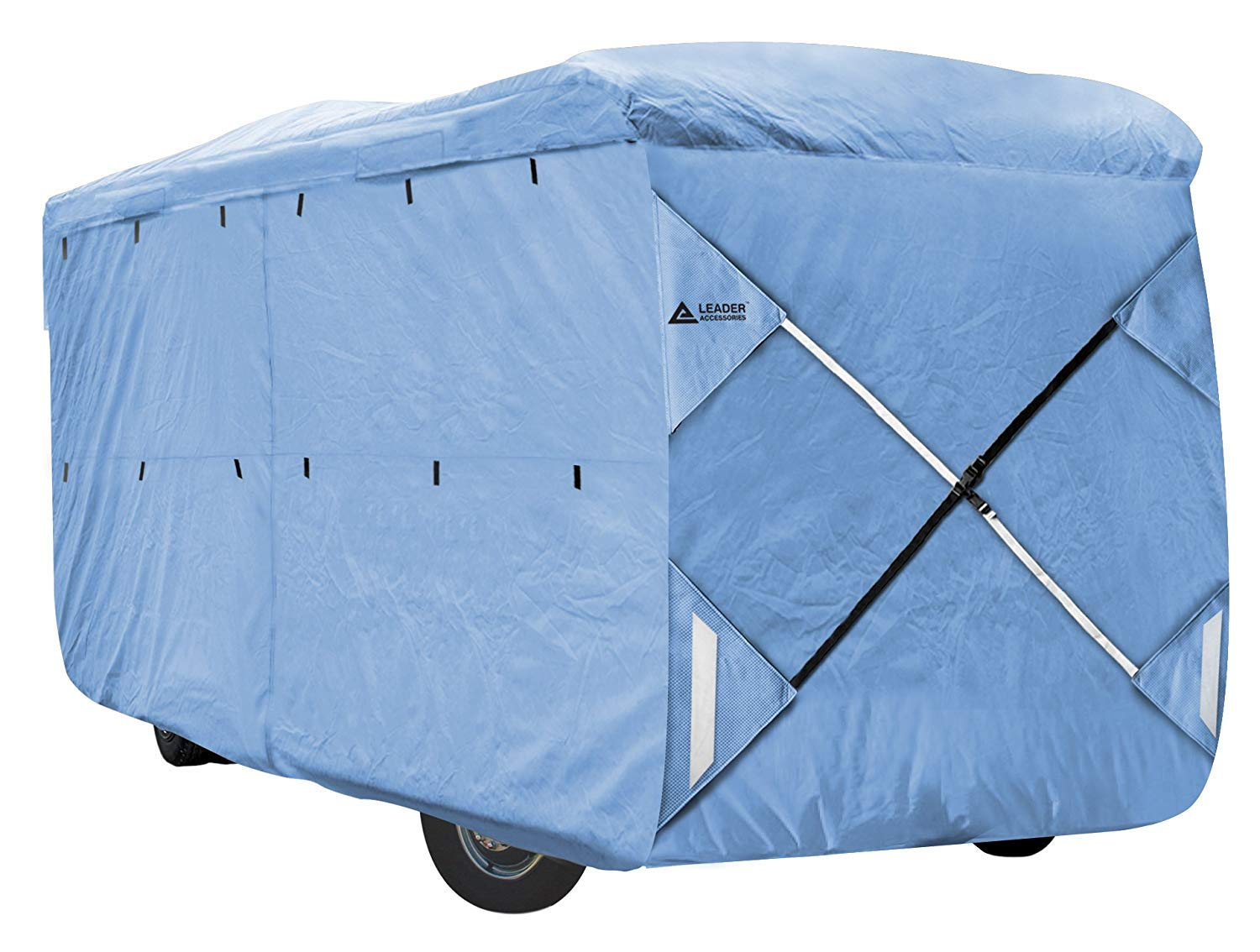 Leader Accessories Class A RV Cover SFS Polypro Fits for RV Motorhome (Fits 37'-40', Blue) by Leader Accessories