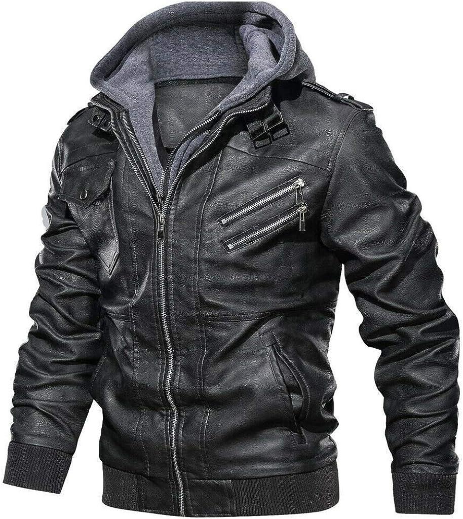 Denzell Outwear Anarchist Chamarras De Hombre Plus Size Leather Jacket At Amazon Men S Clothing Store [ 1024 x 908 Pixel ]