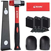 EZARC Laminate Wood Flooring Installation Kit with 60 Spacers, Heavy Duty Pull Bar, Durable Rubber Tapping Block, Double…