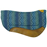 Weaver Leather 35-9307-H37 Contoured Saddle Pad - Merino Wool Fleece Lining,