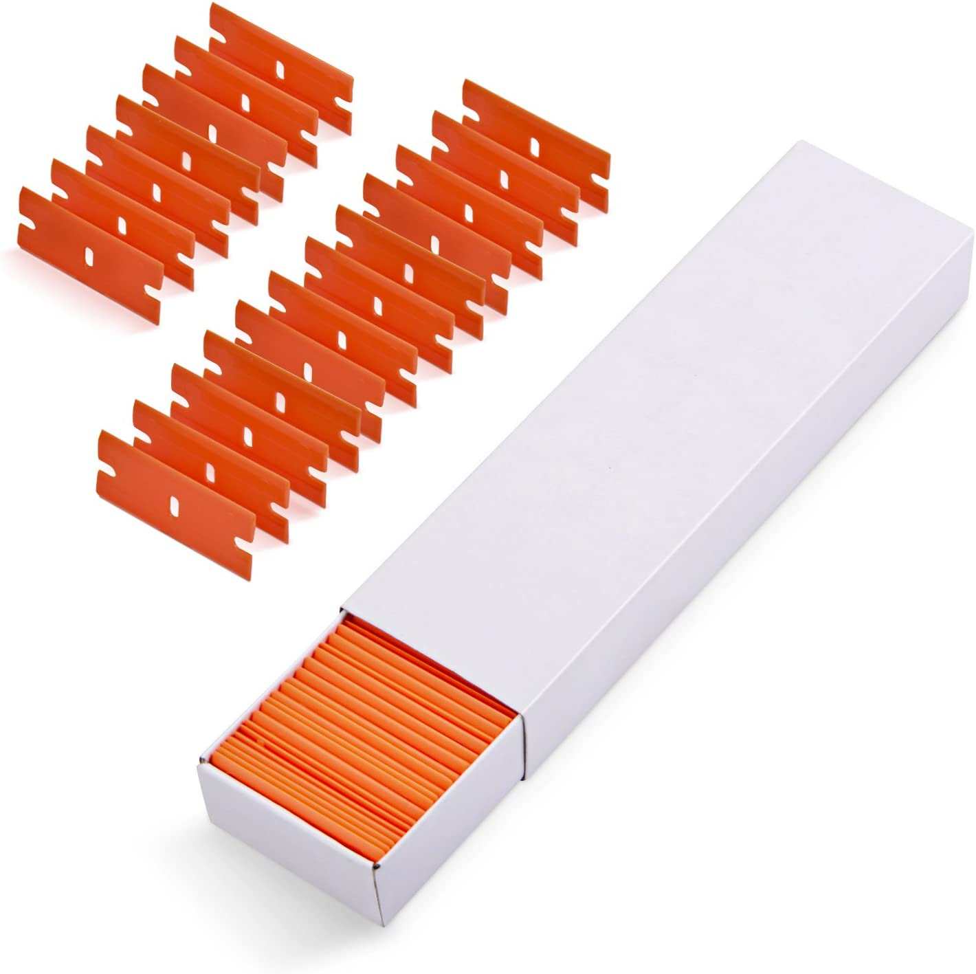 Blade Scraper Car Sticker Remover Plastic//Carbon Razor Residue Soft Surface Tool
