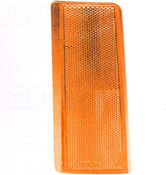 Driver Side Reflector for Chevrolet C1500 1988-2002 New GM2556101 Front