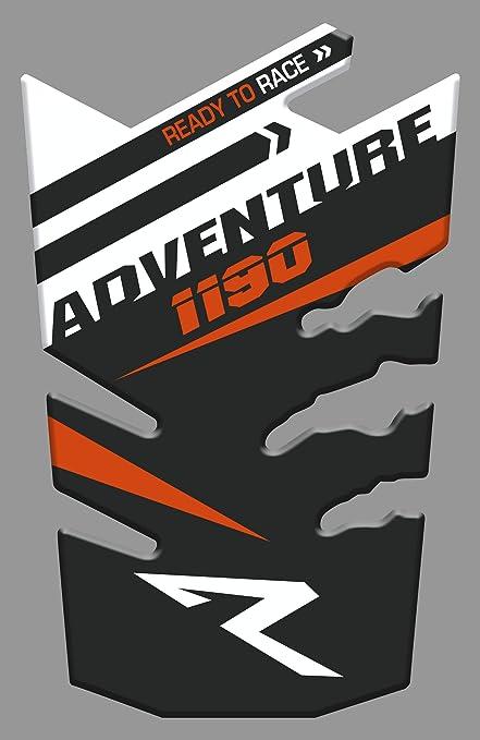 Motocicleta Gas Pantalla//Dep/ósito de Combustible de Goma Tankpad Pantalla adhesivo parar K.T.M 1190 Adventure R