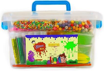 Amazon.com: SISINA Slime Kit 44 pack, suministra cosas para ...