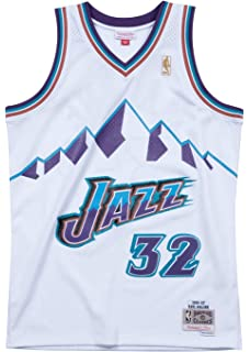 e58a61c69fc Amazon.com   Mitchell   Ness Larry Johnson 1992-93 Charlotte Hornets ...