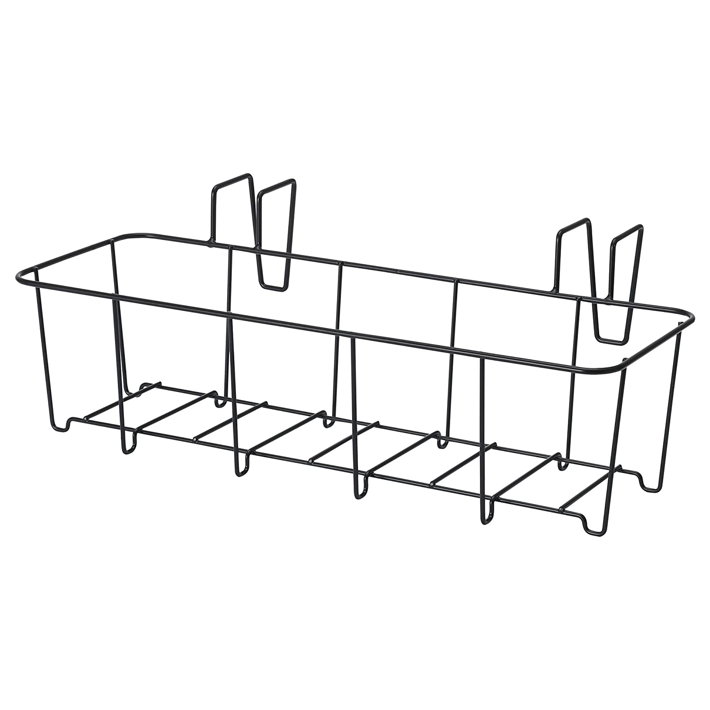 Nero 45x16 Cm Interno Esterno Ikea Sommar 2018 Supporto Per Vaso