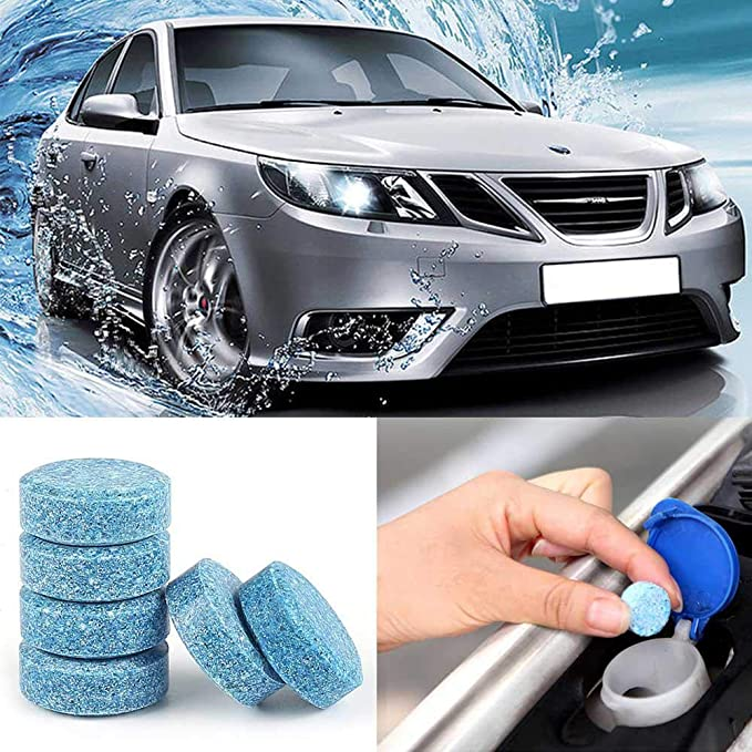 Amazon.com: AOLVO 5pcs Effervescent Cleaning Tablets for Car ...