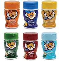 Kernel Season's Popcorn Seasoning Jr. Mini Jars Savory Variety Pack, 0.9 Ounce (Pack of 6)