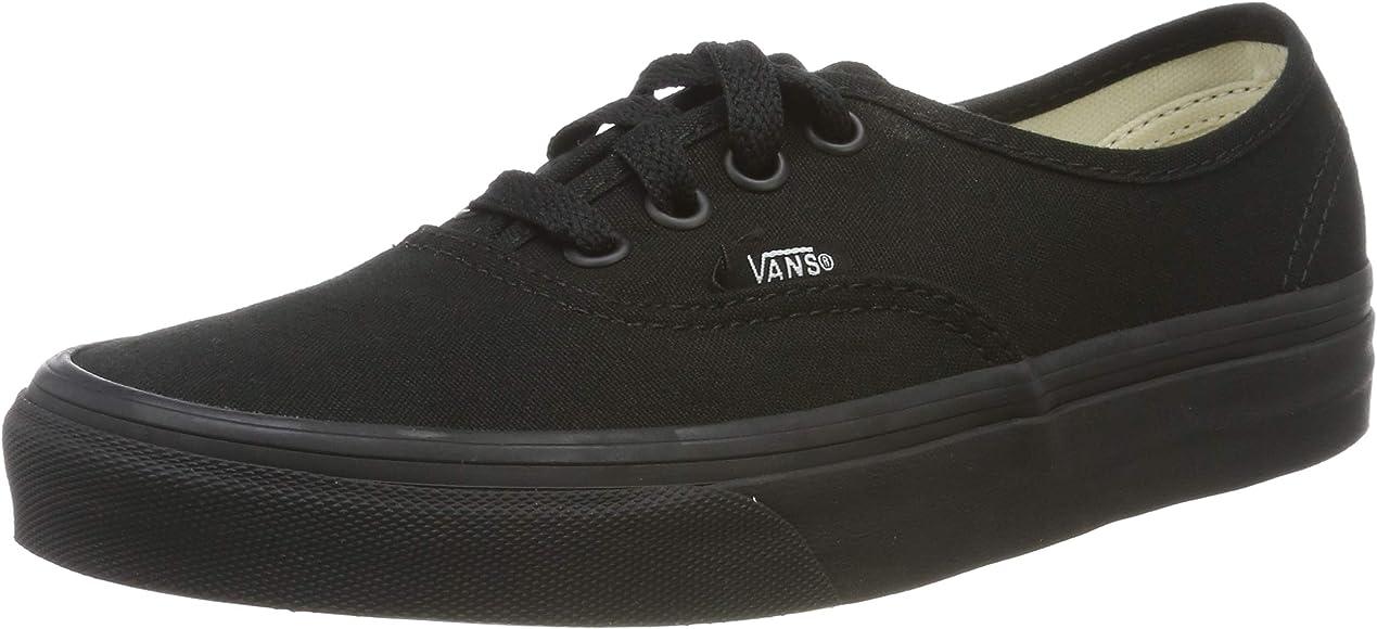 cc25445b20 Amazon.com | Vans - U Authentic Lo Pro Shoes in Black/Black, Size ...