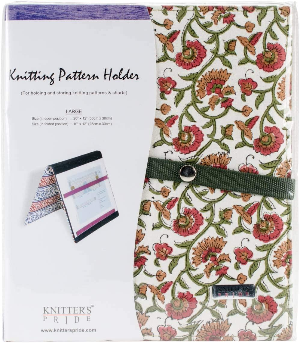 Knitter's Pride Pattern Holder Fold-Up Knitting Chart Keepers 19.75 X 11.75 inches Large Aspire