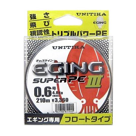 ユニチカ(UNITIKA)キャスラインエギングスーパーPEIII210m0.6号の画像