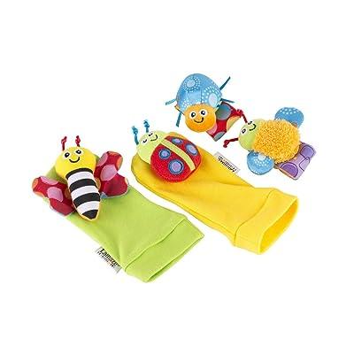 Lamaze Gardenbug Footfinder & Wrist Rattle Set : Baby