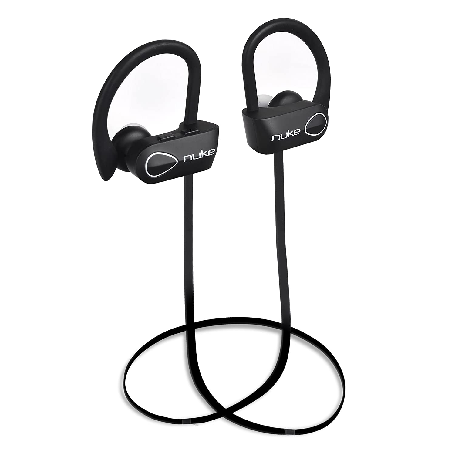 Bluetooth Wireless Headphones, Noise Cancelling Wireless Earbuds, Bluetooth Headset with Microphone IPX7 for Sports Gym Workout, Waterproof, Sweatproof HD Stereo Over-Ear Bluetooth Headphones – Nuke