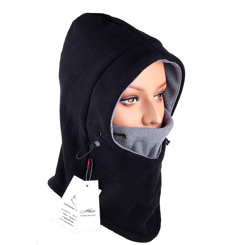 Mazo doppelte Schichten Warm Full Face Cover dicker Winter Ski Maske