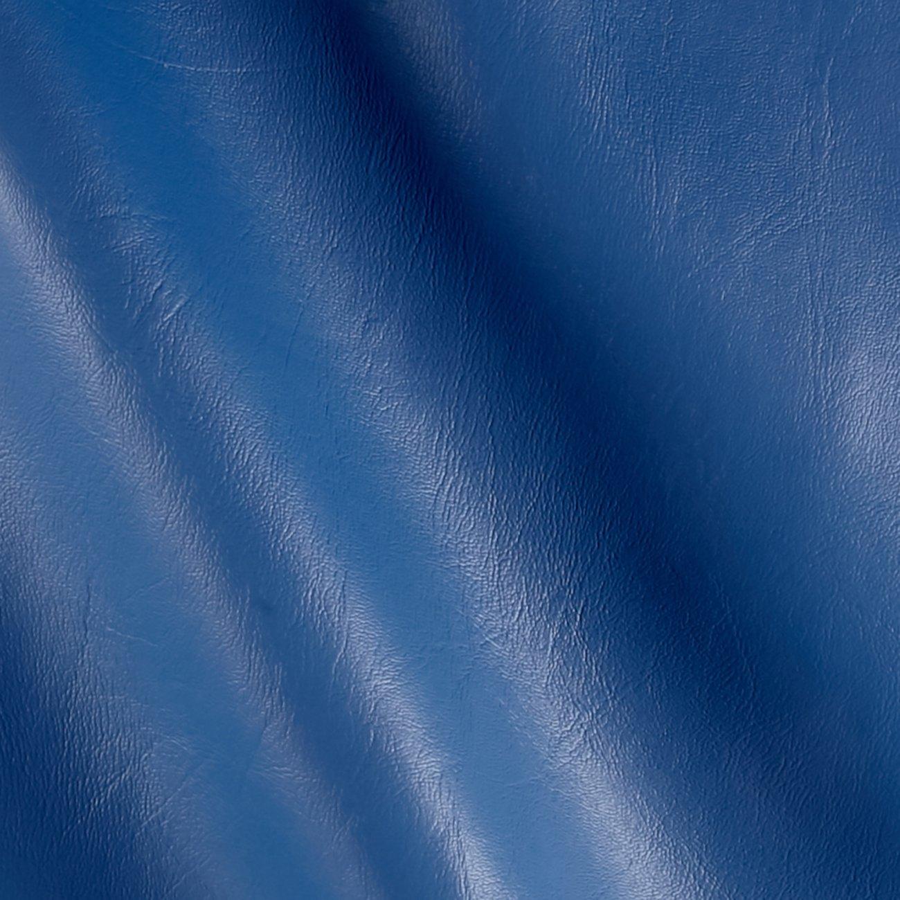 Plastex Vinyl Denim Blue Fabric by The Yard