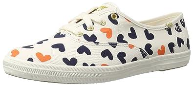 2a710216203 Keds Women s Champion Heart Fashion Sneaker Cream Multi 8 ...