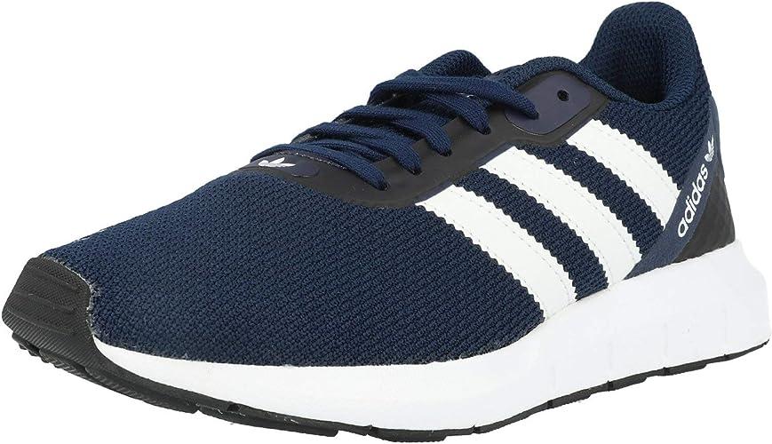 aplausos Bañera Dificil  Adidas Swift Run RF J Children's Shoes Navy White Black: Amazon.de: Schuhe  & Handtaschen