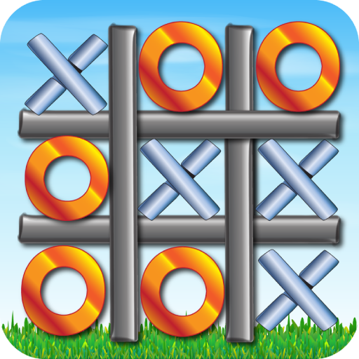 Wood Cross Puzzle - Tic Tac Toe Free