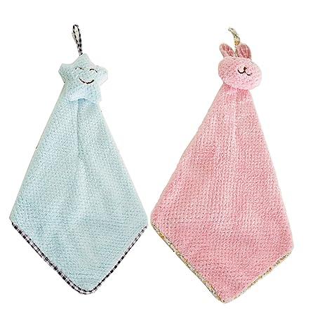 ukey toallas de mano, toalla de microfibra Super absorbente/Toalla de secado rápido para