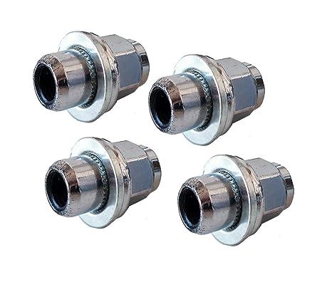 XtremeAuto® 4 x rueda de repuesto tuercas M12 x 1,5 para Original de