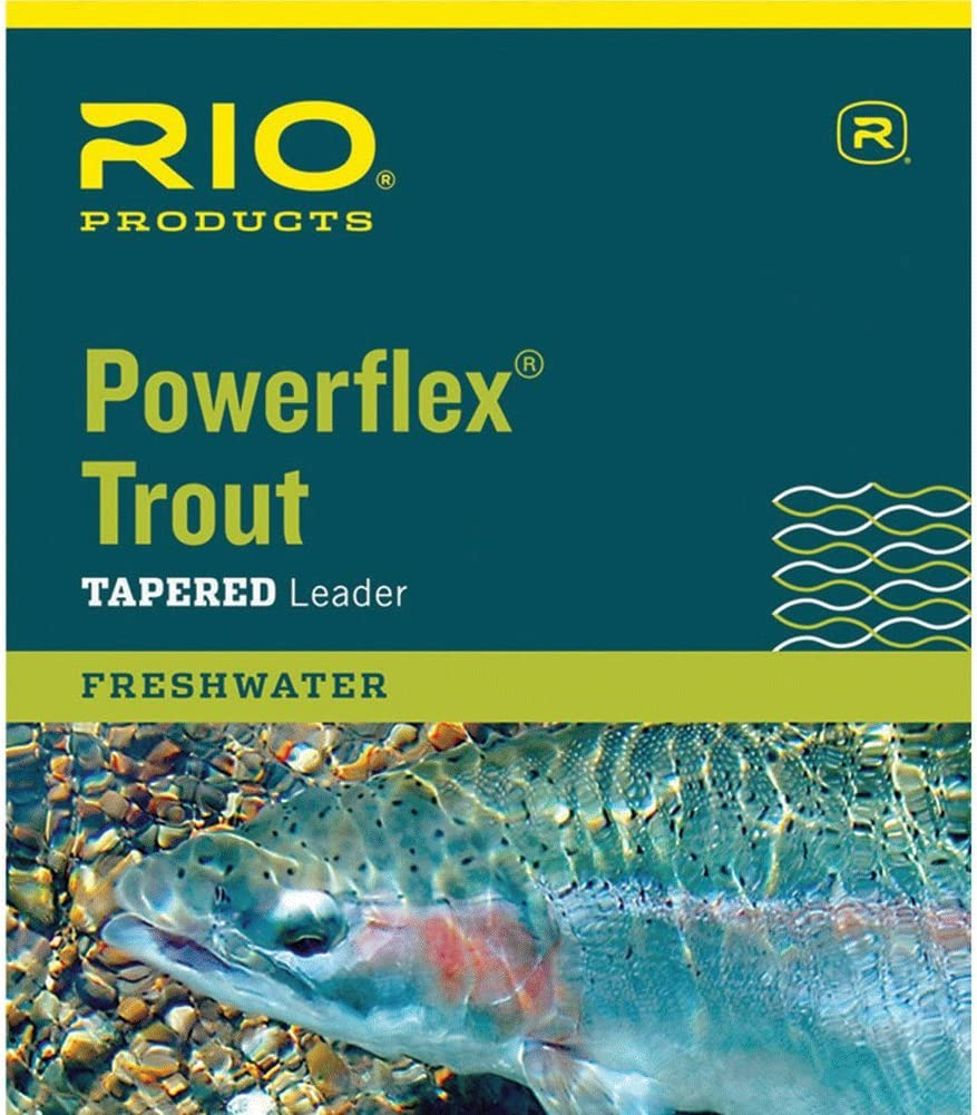 RIO Products Leaders Powerflex Knotless 7.5 3X Leaders, Clear