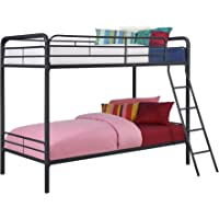 DHP Twin Over Metal Bunk Bed
