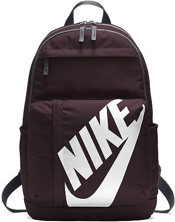 Nike 25 Ltrs Burgundy Crush Black White Casual Backpack (BA5381-652 ... dca30b65b09c2