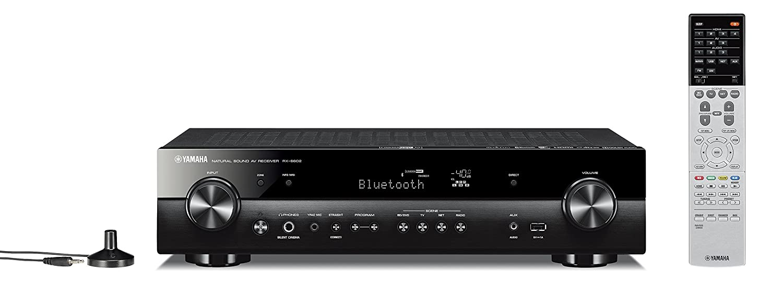ヤマハ AVレシーバー 5.1ch/4K/Bluetooth/Wi-Fi/ネットワークオーディオ/ハイレゾ音源対応 ブラック RX-S602(B) B07F45MDK6 ブラック