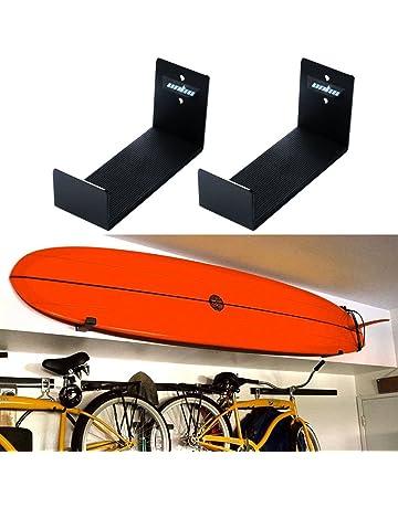 UNHO® Soporte de Pared para Tabla de Surf, Un Par de Sostenedor Colgante,
