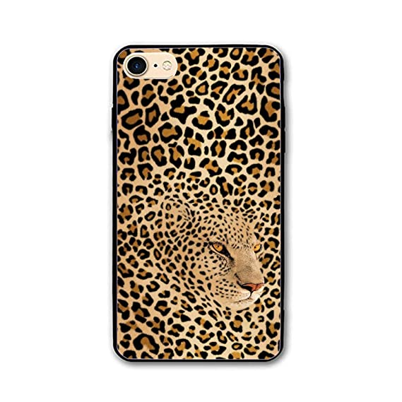 Amazon Com Personalized Hidden Leopard Iphone 7 8 Case For 4 7