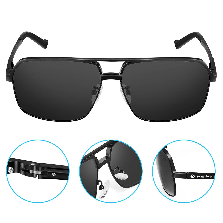 99b50c1aff Amazon.com  Goliath Ronin Polarized Sunglasses for Women Men ...