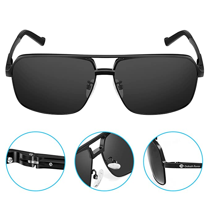 f20c309c2b Amazon.com  Goliath Ronin Polarized Sunglasses for Women Men ...