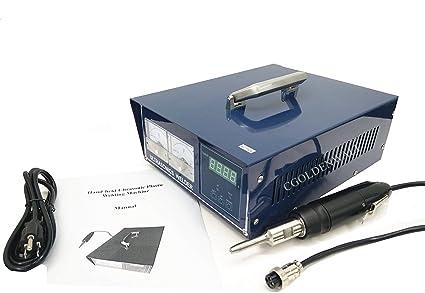 CGOLDENWALL 500 W Ultrasónico plástico de soldadura máquina de ...