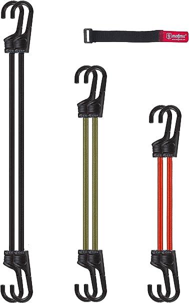 MAGMA Pack 6 Pulpos Elásticos Transporte | Tensor Cuerda Elástica ...